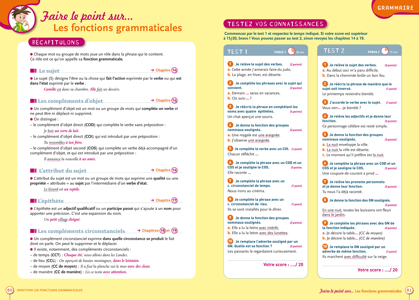 bordas  u2022 grammaire 6e  u2013 blogbook mabm